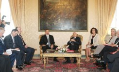Meeting held between presidents of Azerbaijan and Italy - Gallery Thumbnail
