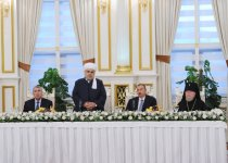 President Ilham Aliyev attended the Iftar ceremony on the occasion of the holy month of Ramadan (PHOTO) - Gallery Thumbnail