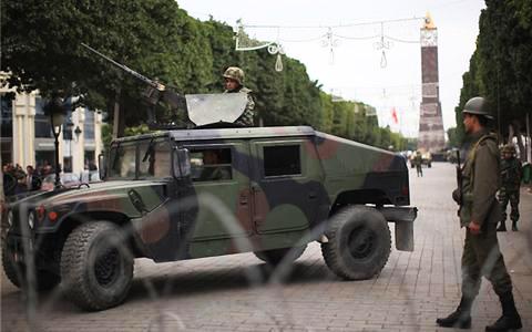 Four Tunisian soldiers killed in 'terrorist' attack