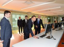 Azerbaijani president attends opening of a cement plant in Baku (PHOTO) - Gallery Thumbnail