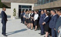 Prezident İlham Əliyev Xızıda Heydər Əliyev Mərkəzinin açılışında iştirak edib (FOTO) - Gallery Thumbnail