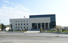 Azerbaijani president reviews new office building of Khizi District executive authority - Gallery Thumbnail