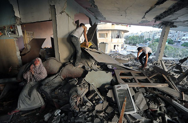 Gaza death toll jumps to 583: Ministry