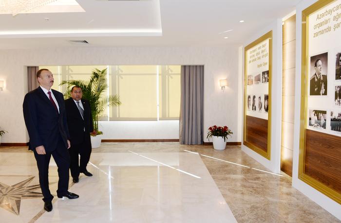 Prezident İlham Əliyev Xızıda Heydər Əliyev Mərkəzinin açılışında iştirak edib (FOTO) - Gallery Image