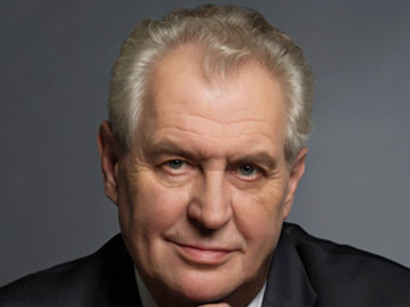 President of the Czech Republic congratulates Caspian Energy journal on 15th anniversary