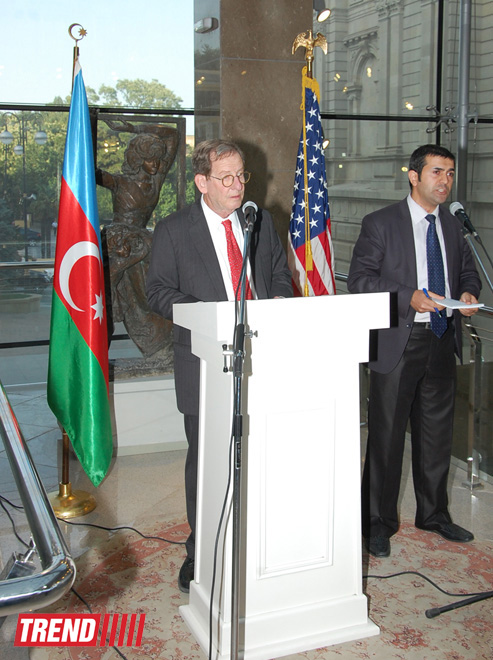 U.S ambassador to Azerbaijan expresses regret of any kind of hostilities on contact line - Gallery Image