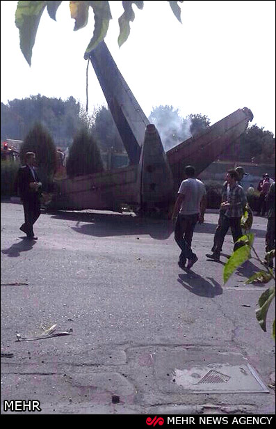 Iranian Police's lost light plane crashes in Zahedan heights