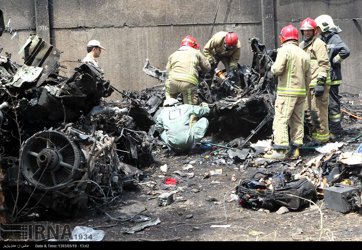 Senior officers among dead in police plane crash in Iran