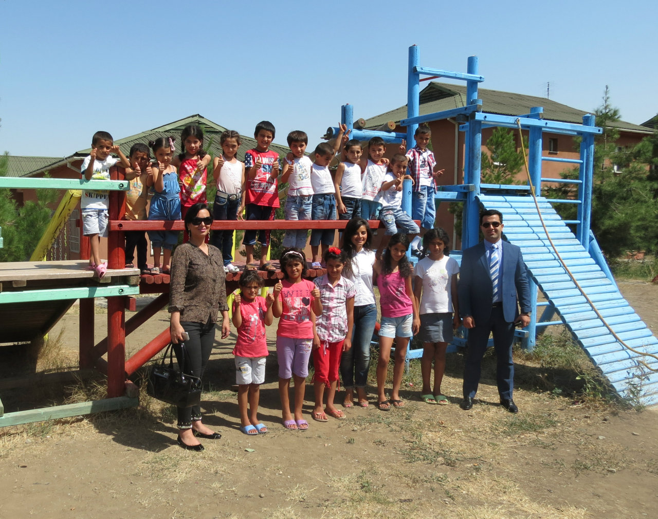 "Nobel Oil in partnership with ""SOS Children's Villages"" launched a new playground for children in need in Azerbaijan"