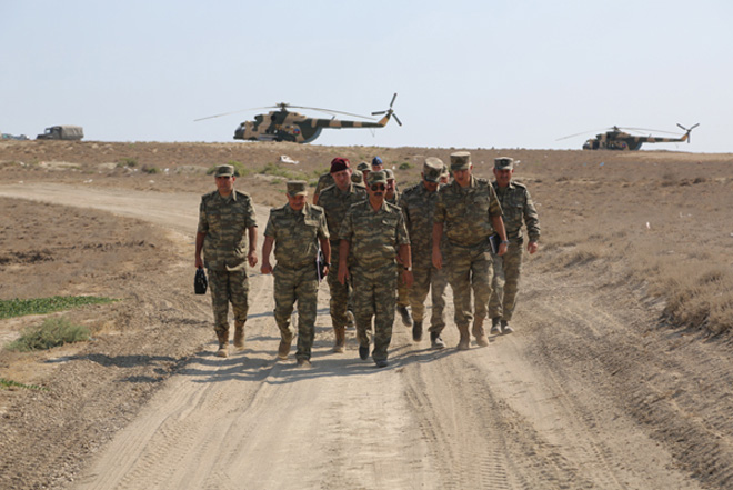 Azerbaijani air defense troops continuing exercises (PHOTO) - Gallery Image