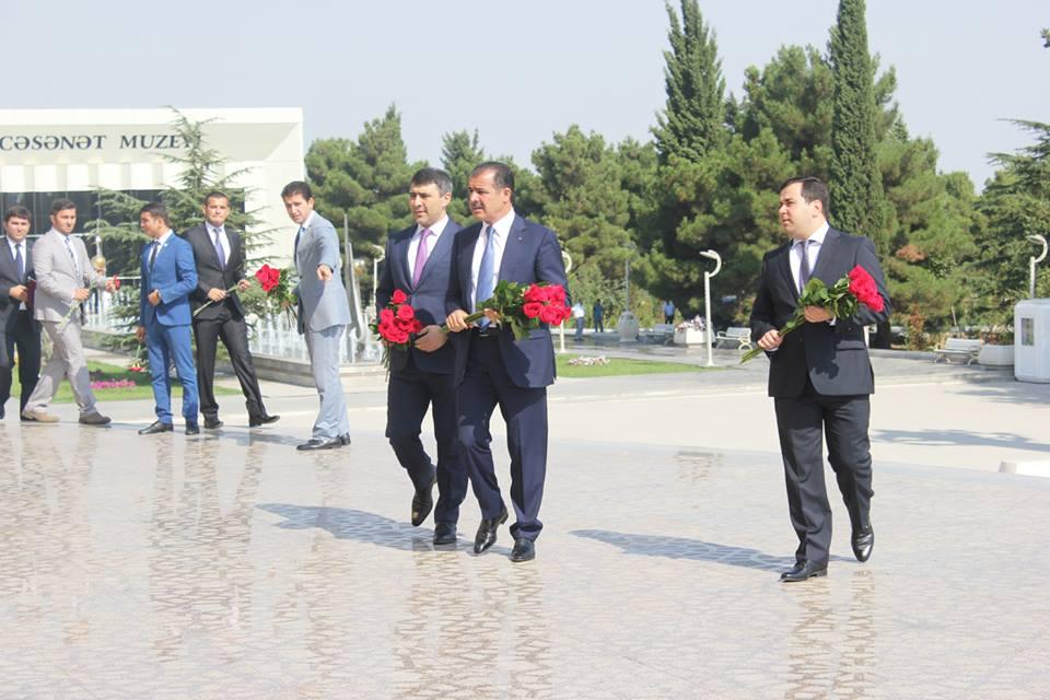 Gəncədə Avropa Gənclər Parlamentinin Baş Assanbleyasının rəsmi açılışı olub - Gallery Image