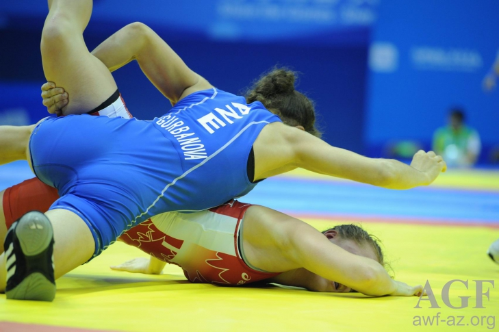 Azerbaijani wins silver medal in women's wrestling competition at Youth Olympic Games