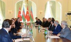 Президент Ильхам Алиев: Между Азербайджаном и Турцией установились братские, дружественные отношения  (ФОТО) - Gallery Thumbnail
