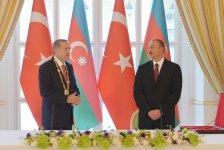 Президент Турции награжден орденом «Гейдар Алиев» (ФОТО) - Gallery Thumbnail