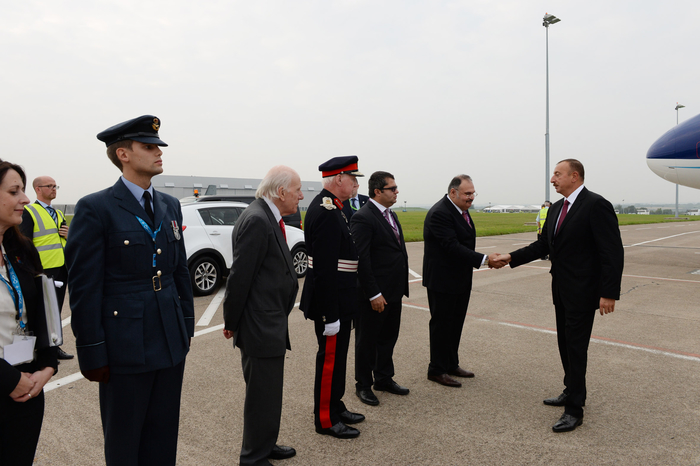 President Ilham Aliyev is on a working visit to the United Kingdom (PHOTO) - Gallery Image