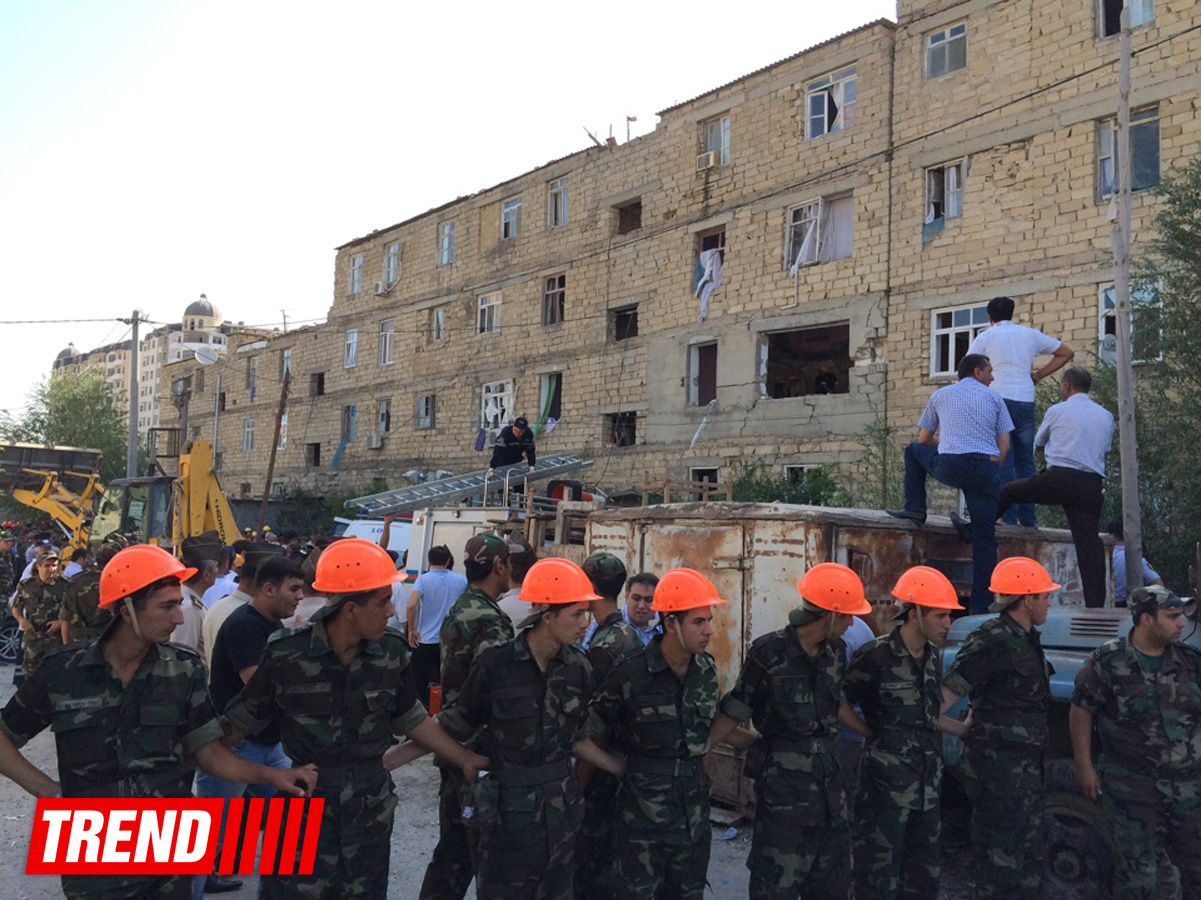 Explosion occurs in Azerbaijan's Khirdalan city - Gallery Image