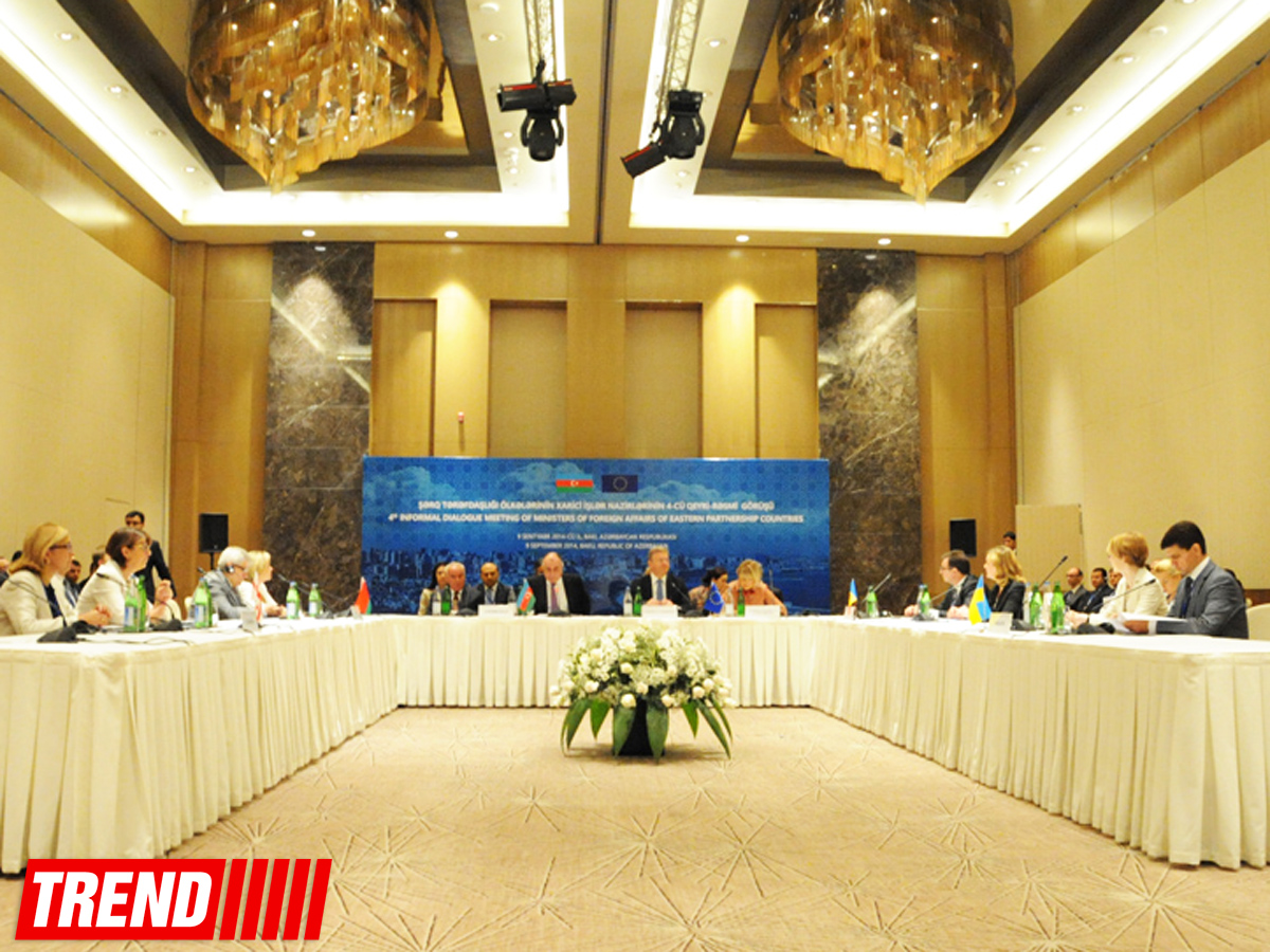 Informal meeting of foreign ministers of Eastern Partnership countries kicks off in Baku