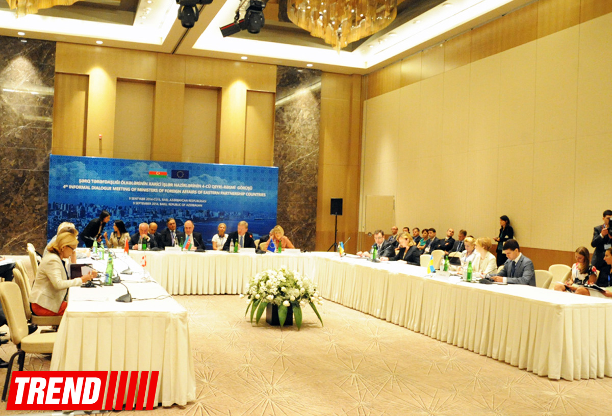 Informal meeting of foreign ministers of Eastern Partnership countries kicks off in Baku - Gallery Image