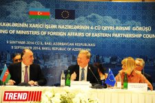 Informal meeting of foreign ministers of Eastern Partnership countries kicks off in Baku - Gallery Thumbnail