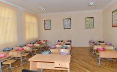 Azerbaijani president reviews secondary school No. 153 in Baku (PHOTO) - Gallery Thumbnail