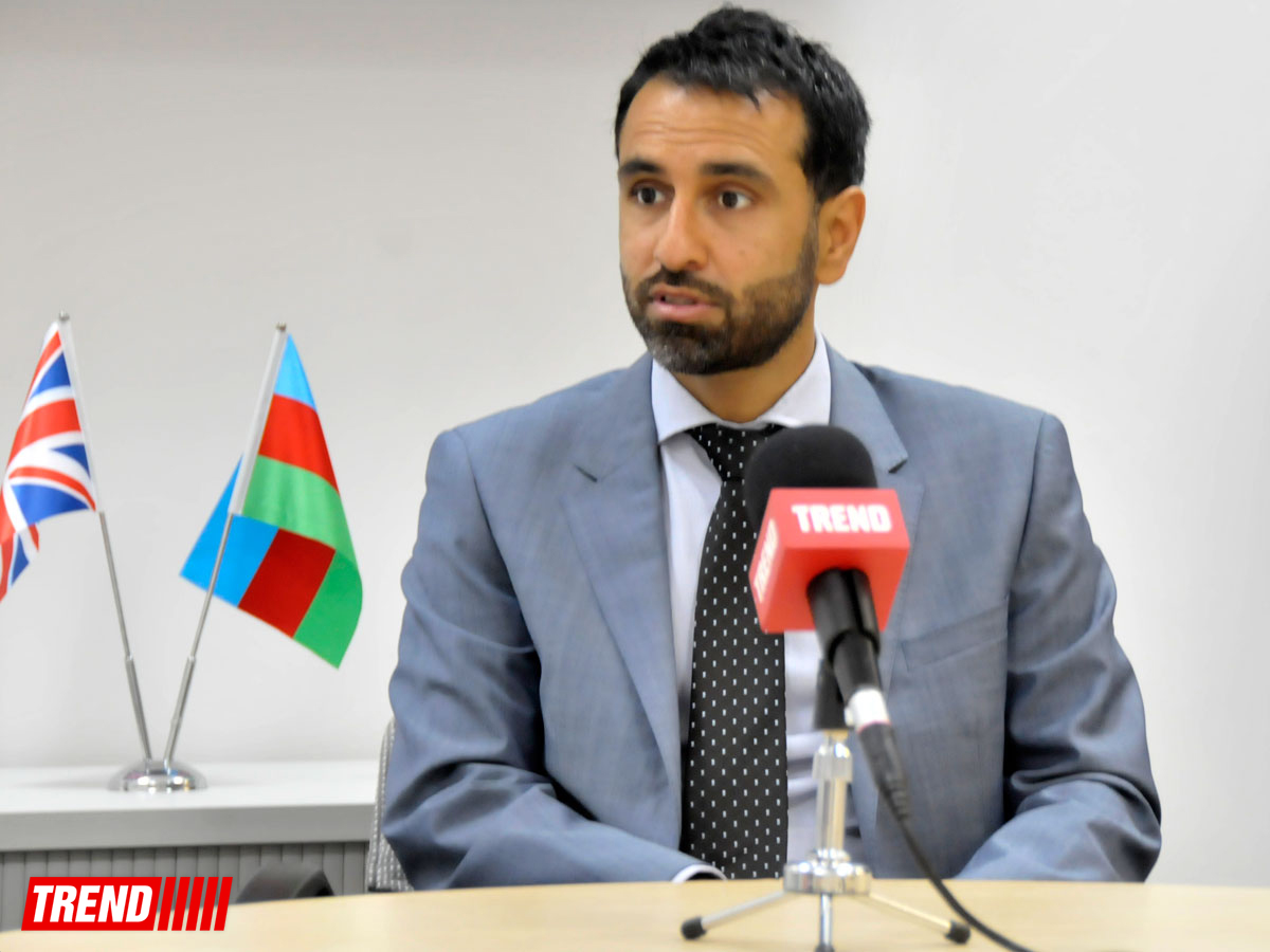 DIPLOMATIC POUCH: Interview with Irfan Siddiq, Britain's ambassador to Baku (PHOTOS) - Gallery Image
