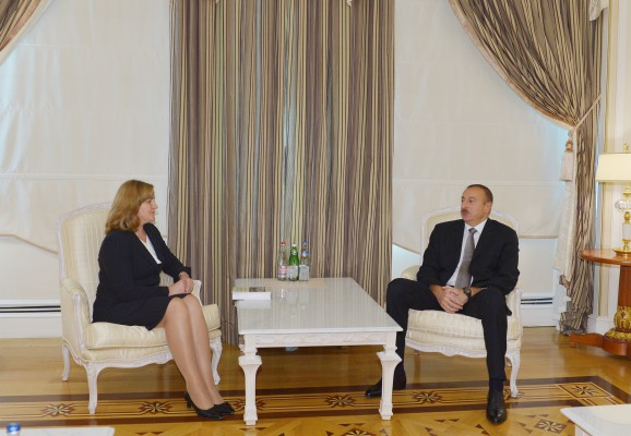 Azerbaijani president receives Deputy PM of Moldova
