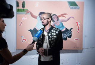 Afghan artist Reza Hazare's sole exhibition entitled Anesthesia, opens at YAY Gallery
