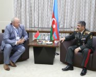Azerbaijani defense minister meets representatives of several countries' armed forces - Gallery Thumbnail