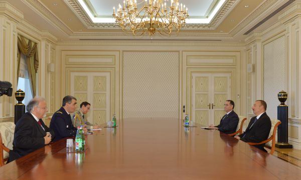 President Aliyev receives director of international development department at French DGA