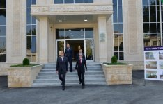 President Ilham Aliyev reviewed school-lyceum No. 72 and secondary school No. 80 in Baku - Gallery Thumbnail