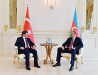 Azerbaijani president holds one on one meeting with Turkish PM - Gallery Thumbnail