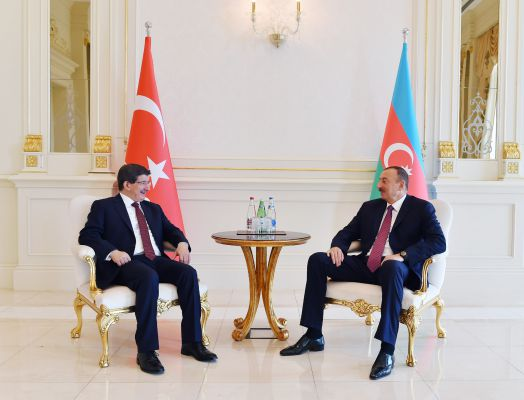 Azerbaijani president holds one on one meeting with Turkish PM - Gallery Image