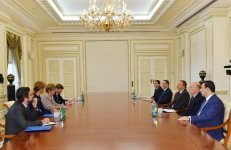 Azerbaijani president receives delegation led by PACE president (PHOTO) - Gallery Thumbnail