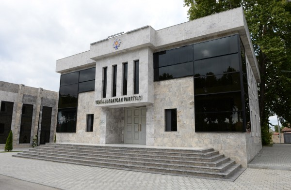 Office building of Ismayilli District branch of New Azerbaijan Party opens (PHOTO) - Gallery Image