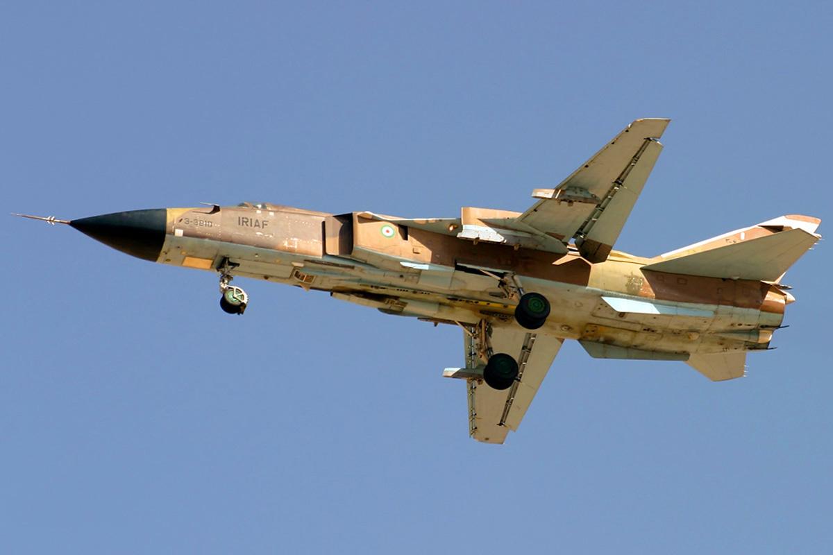 Iran overhauls Su-24 fighter jet