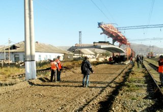 Main lines to be repaired at one of Baku's railway stations