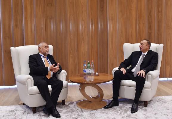 Prezident İlham Əliyev Latviya, Litva və Xorvatiyanın sabiq prezidentlərini qəbul edib (FOTO) - Gallery Image