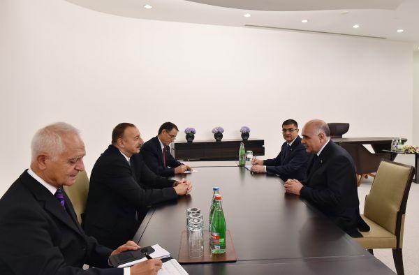 President Ilham Aliyev received Deputy Prime Minister of Turkmenistan (PHOTO)