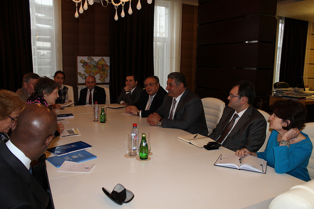 Azerbaijan's minister of youth and sports meets with UNDP administrator (PHOTO) - Gallery Image