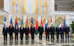 President Aliyev attends meeting of CIS Council of Heads of State (PHOTO) - Gallery Thumbnail