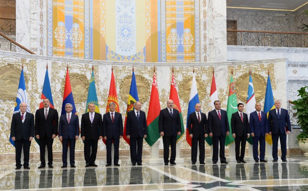 President Aliyev attends meeting of CIS Council of Heads of State (PHOTO) - Gallery Image
