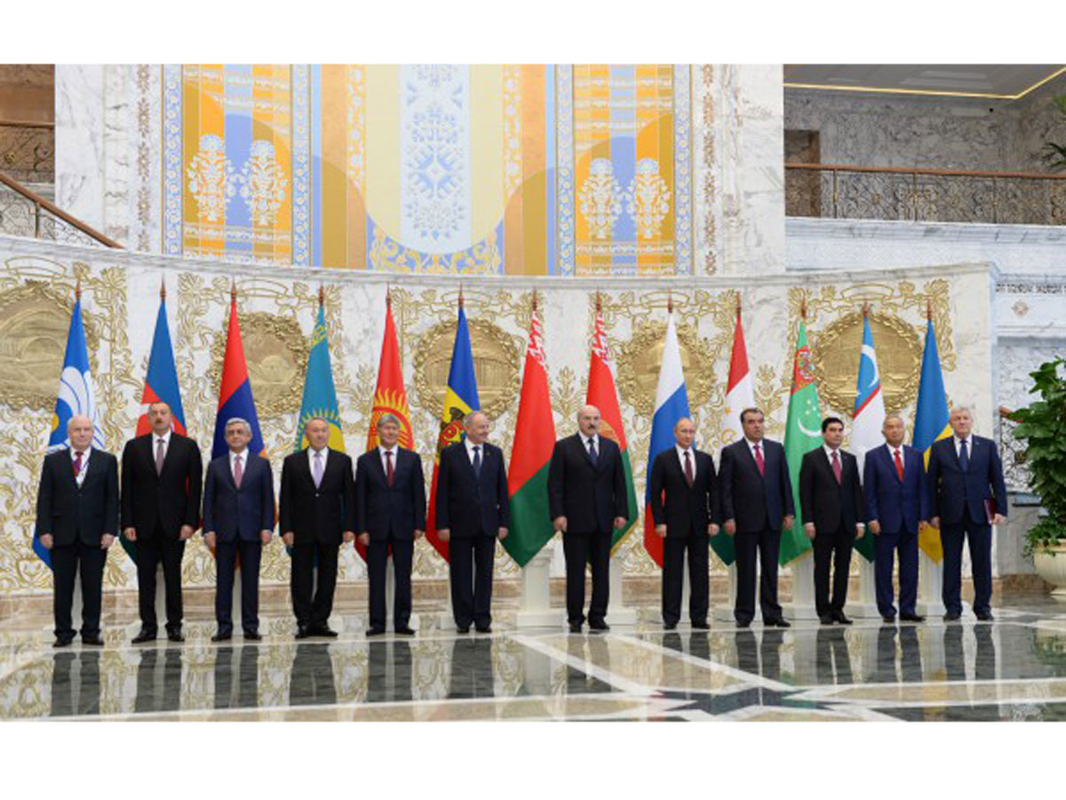 President Aliyev attends meeting of CIS Council of Heads of State (PHOTO)