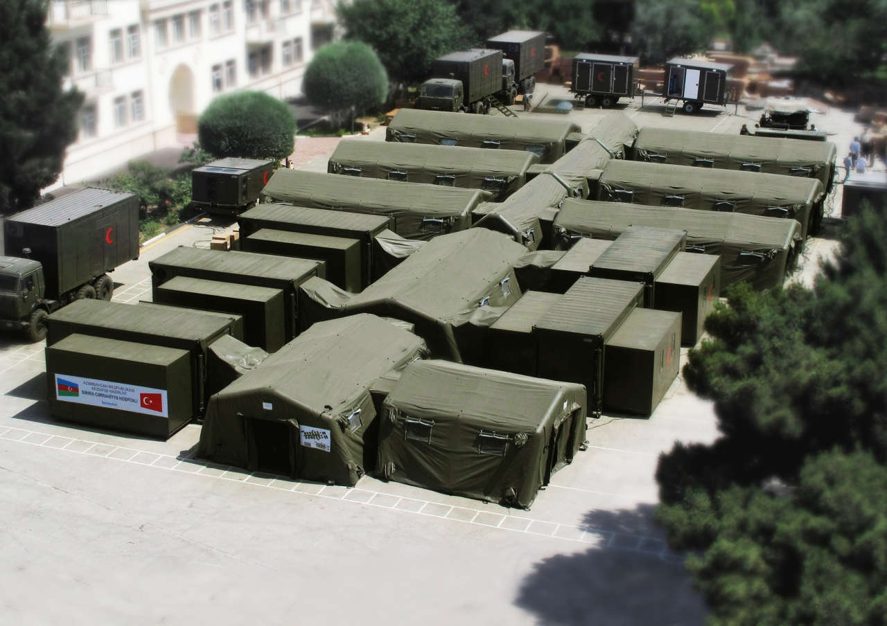 Azerbaijan intends to buy mobile military field hospitals from Turkey (PHOTO)