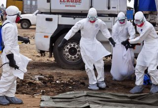 Ebola virus death toll exceeds 8,100 - WHO