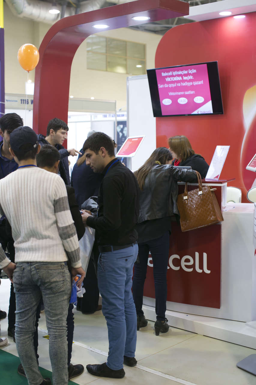 Bakcell takes part in education, career exhibitions (PHOTO) - Gallery Image