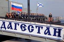 В Баку прибыли два корабля Каспийской флотилии ВМФ России (ФОТО) - Gallery Thumbnail