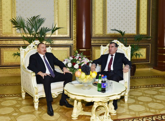 President Ilham Aliyev's official visit to Tajikistan ended - Gallery Image