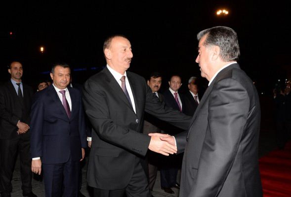 President Ilham Aliyev's official visit to Tajikistan ended