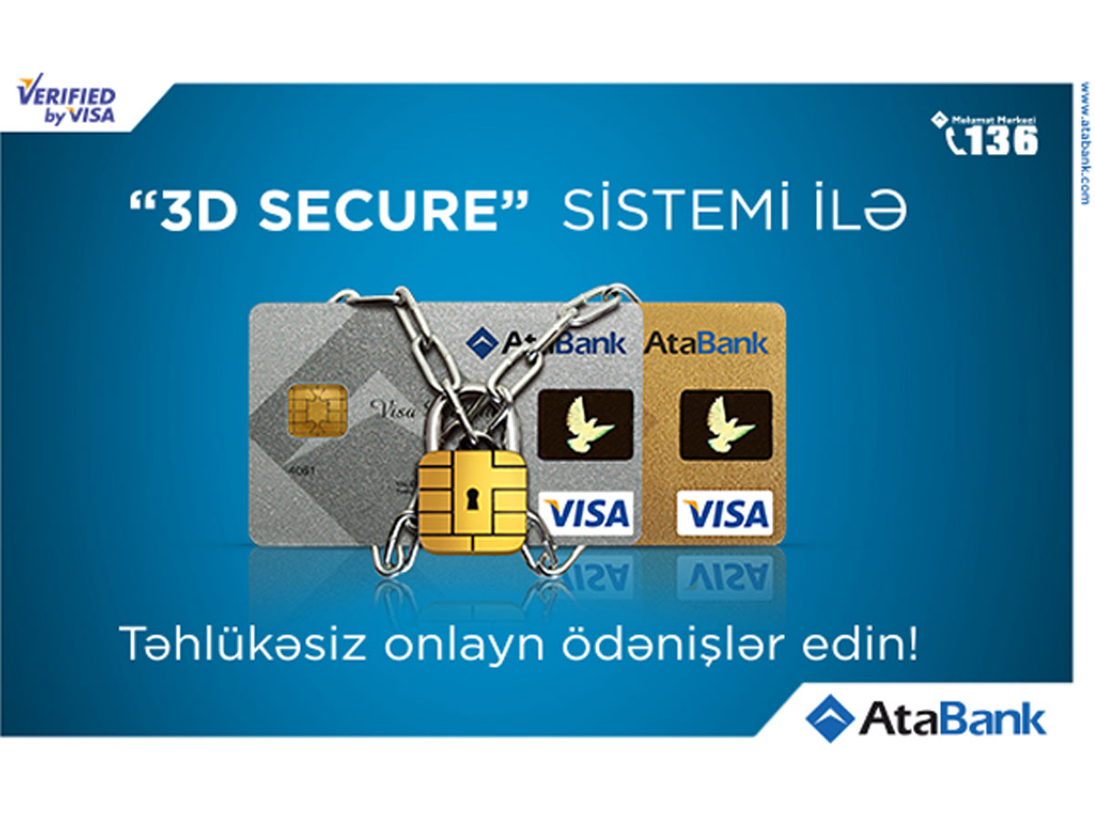 Azerbaijan's AtaBank actively implements 3D Secure service