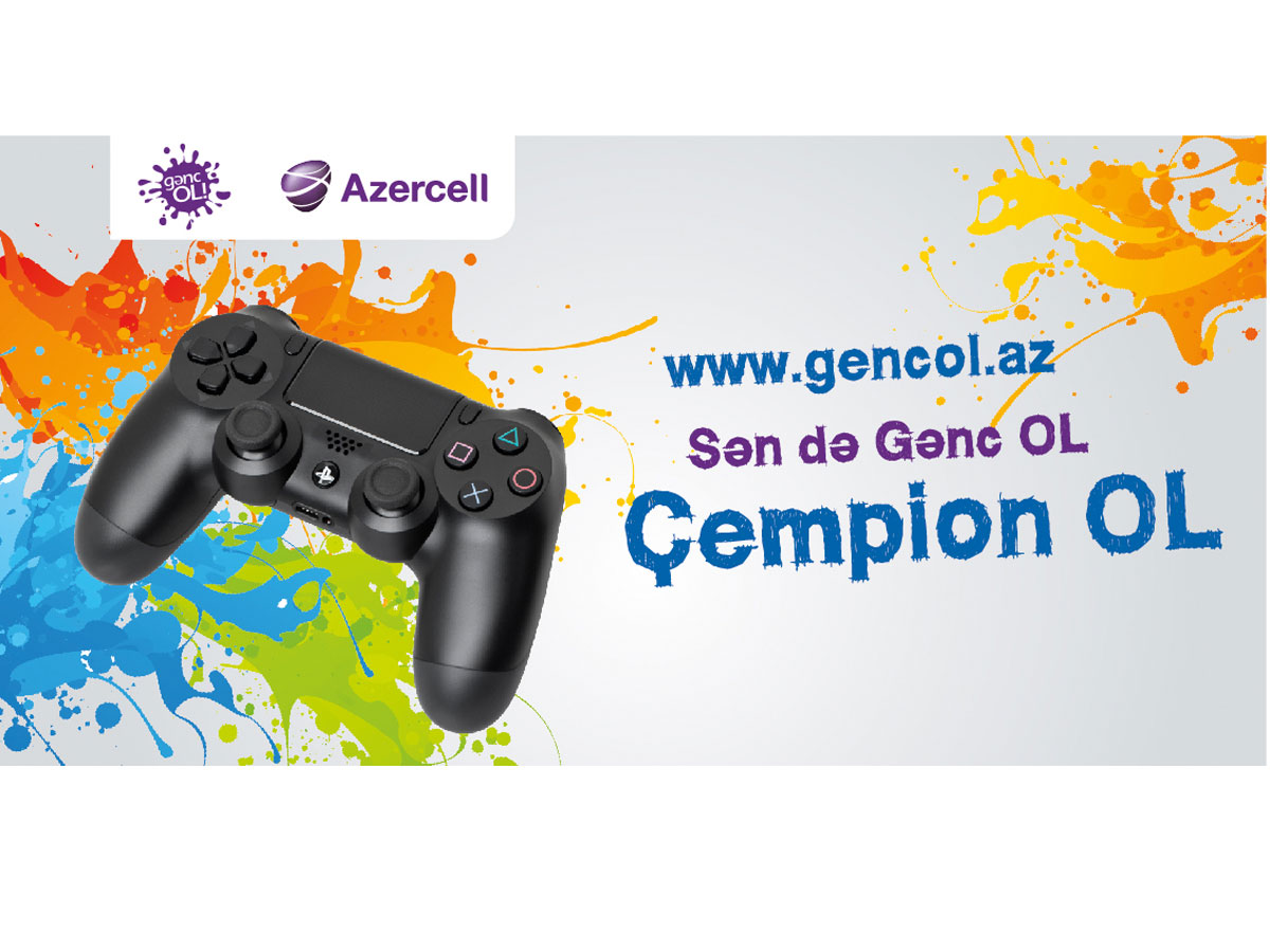 Azercell holds PlayStation FİFA 14 cup as part of Genc Ol tariff